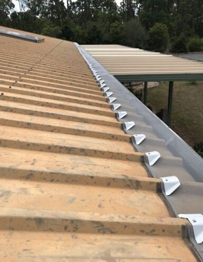 Gutters protected from leaves Hervey Bay